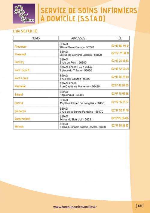 A11 service de soins infirmiers a domicile ssiad 4