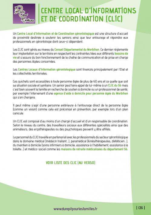 C35 centre local d informations et de coordination clic