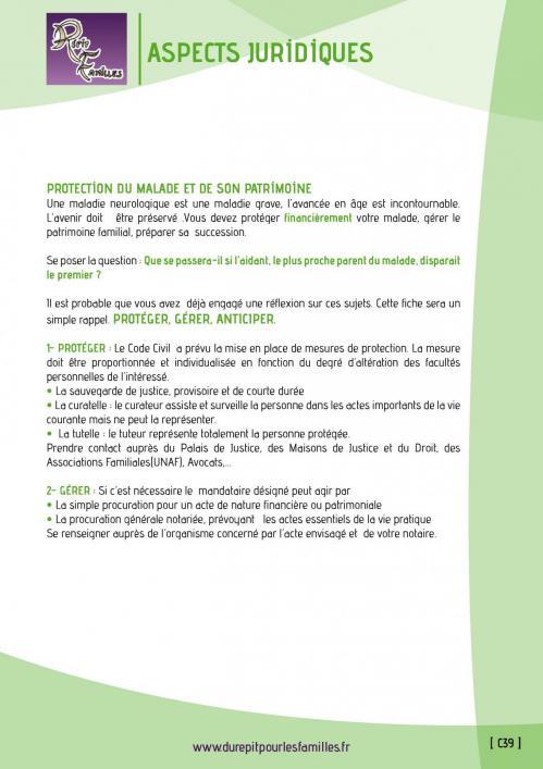 C39 aspects juridiques