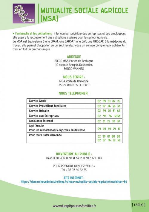 C40 b mutualite sociale agricole msa 2