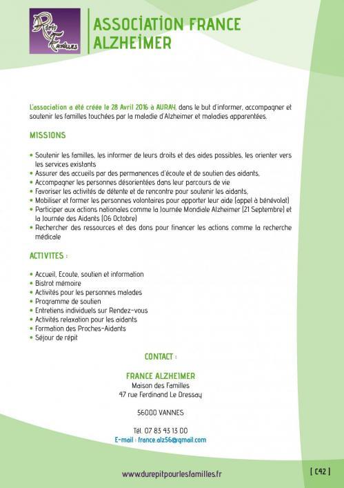 C42 association france alzheimer